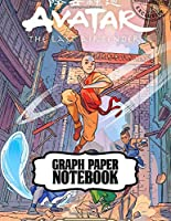 Graph Paper Notebook: Drawing Photo Artwork The Last Airbender Soft Glossy No Bleed Graph Paper Notebook Grid Paper for Math & Science Students 8.5 x 11 in large (21.59 x 27.94 cm)