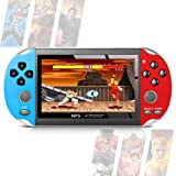 Handheld Game Console, Mini Retro Player Built-in 650 Classical Games 4.3Inch TFT Color Screen Rechargeable Battery Present G