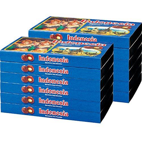 インドネシア 土産 インドネシア マカデミアナッツチョコレート 12箱セット (海外旅行 インドネシア お土産)