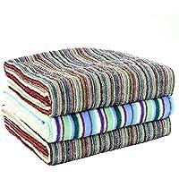 今治産 タオル 色柄おまかせ 残糸で作ったエコなタオルセット 日本製 (バスタオル60×120cm 3枚組)