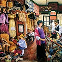 Buying Hats 1000pc Jigsaw Puzzle by Susan Brabeau