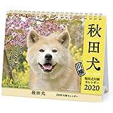 アートプリントジャパン 2020年 秋田犬(卓上)カレンダー vol.022 1000109231