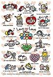 70ピース ジグソーパズル ディズニー ツムツム―カップル―【プリズムアートプチ】(10x14.7cm)