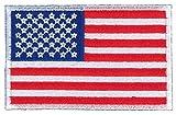 東洋マーク アメリカ合衆国 国旗 刺繍 ワッペン 接着芯タイプ A-39