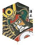 YASUDA(ヤスダ) 和凧 六角凧(35m糸付) 12清正 1012