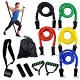 NSEN Black Replacement Resistance Bands Tubes Compatible For Billy's BootCamp
