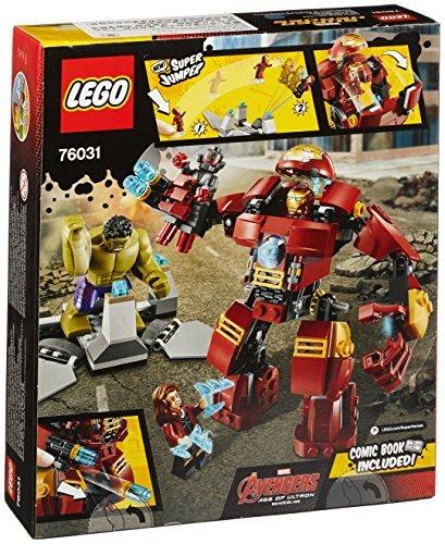レゴ (LEGO) スーパー・ヒーローズ ハルクのバスタースマッシュ 76031