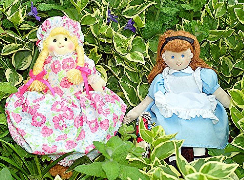 布絵本 布人形 変身人形 フリップオーバードール アリス&金髪の女の子と3びきのくま お話の世界2個組みギフトセット