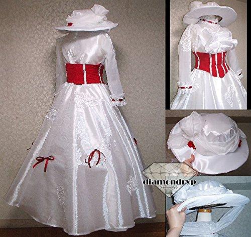 コスプレ衣装 ディズニー メリーポピンズ風ハロウィーン仮装  コスチューム ハロウィーン仮装 ディズニー オーダー可能
