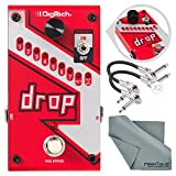 DigiTech Drop Polyphonic Drop Tune Pitch-Shifter Pedal with Basic Accessory Bundle [並行輸入品]