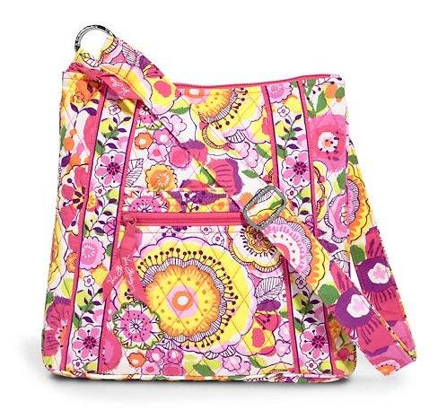 Vera Bradley (ヴェラブラッドリー) ヒップスター ショルダーバック ななめかけショルダーHipster Handbag【並行輸入】 (Clementine) #11262-152