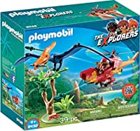 PLAYMOBIL? Adventure Copter with Pterodactyl Building Set 【You&Me】 [並行輸入品]