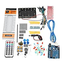 Prament 28種類宇野 R3 の基本ブレッドボードブザーセンサー LED 要素キットの Arduino