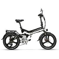 【日本在庫】Excy XF590 20インチ折り畳み電気自転車 アシスト自転車 48V 10AH 500Wモーター 防水…