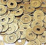 (イスイ)YISHUI 50PCS 風水 中国古銭 開運 コイン お守り 護符 feng shui Y1020 (¥ 780)