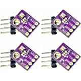 Onyehn BME280 Temperature Humidity Barometric Pressure Sensor Module with IIC I2C for Arduino(Pack of 4pcs)