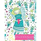 Draw and Write Journal for Girls: Kids Journal to Draw and Write In: Childrens Story Writing Lined Journal Diary Notebook with Blank Drawing Boxes to ... Kids. Letter Tracing. Kid Journals. Blue Do