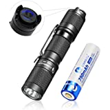 LED small torch, Pocket Mini EDC Flashlight torch Rechargeable - LUMINTOP Tool AA 2.0, 2020 New Recommend Super Bright 650 Lu
