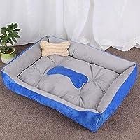 KuangfuMall ペット用ボルスター犬用ベッドコンフォートペット大型犬小屋猫の巣 (Color : D, サイズ : 45*31*15cm)