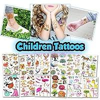 子供の一時的な入れ墨 - 子供のための100以上の盛り合わせボディアートデザインの入れ墨(キッズタトゥー1)