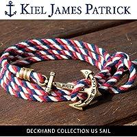 (キールジェイムスパトリック)KIEL JAMES PATRICK ロープ ブレスレット DECKHAND COLLECTION/US SAIL/DC-1587-601 kjp-084