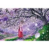 [108 pieces] Sakura Cherry Blossom Wind Jigsaw Puzzle (18.2 x 25.7 cm) Japan by Appleone [並行輸入品]