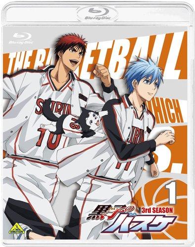 黒子のバスケ 3rd SEASON 1 [Blu-ray]の詳細を見る