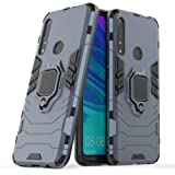 Case for P Smart Z Y9 Prime 2019 DWaybox Ring Holder Iron Man Design 2 in 1 Hybrid Heavy Duty Armor Back Case Compatible for