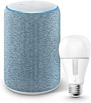 Echo (エコー) 第3世代 - スマートスピーカー with Alexa、トワイライトブルー + TP-Link Kasa スマート LED ランプ 調光タイプ E26 KL110