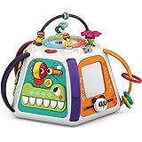 よくばりボックス 知育玩具 知育ボックス よくばりキューブ やみつきボックス ビーズコースター 音楽おもちゃ 音と光 ピアノ お絵かきボード いたずらおもちゃ 人気 やりたい放題おもちゃ 幼児 ベビー 赤ちゃん 子供 知育 おもちゃ 0歳 1歳 2歳