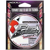 JACKALL(ジャッカル) フロロカーボンライン レッドスプール 100m 3号 12lb