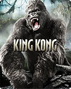 【Amazon.co.jp限定】キング・コング スチールブック仕様ブルーレイ [Blu-ray]