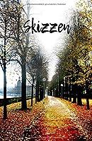 Skizzen: Skizzenbuch fuer taegliche Skizzen und Zeichnungen   Fuer Kuenstler und Kreative   Format 5,5 x 8,5 Zoll   151 Seiten zum Zeichnen