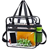 Magicbags Clear Bag Stadium Approved,NCAA NFL&PGA Security Approved Clear Tote Bag with Multi-Pockets and Adjustable Shoulder