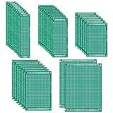 Quimat 35枚 ユニバーサル基板 両面 PCB回路基板 実験プレート DIY はんだ付け 電子工作 QY21