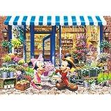 1000ピース ステンドアート ディズニー ミニーのフラワーショップ(51.2cmx73.7cm)