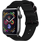 SIXRARI Sport Watch Strap Bands Compatible with Apple Watch Band 38mm 40mm, Nylon Wristband Loop Replacement with Adjustable