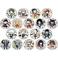 ダンガンロンパ1・2 Reload 02 グラフアートデザイン 缶バッジ BOX