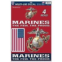 United States Militaryアメリカ海兵隊multi-useデカールシート、マルチカラー、1サイズ
