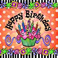 Suzy Toronto Cocktail Napkins, Happy Birthday, 20-Pack