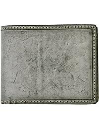 ORICE(オリーチェ)オリーチェブルームレザー二つ折り財布/ウォレット (ブラック)