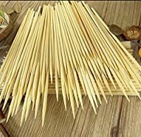 Kabob skewers PACK of 500 8 inch bamboo sticks made from 100% natural bamboo - shish kabob skewers - (500) 【Creative Arts】 [並行輸入品]