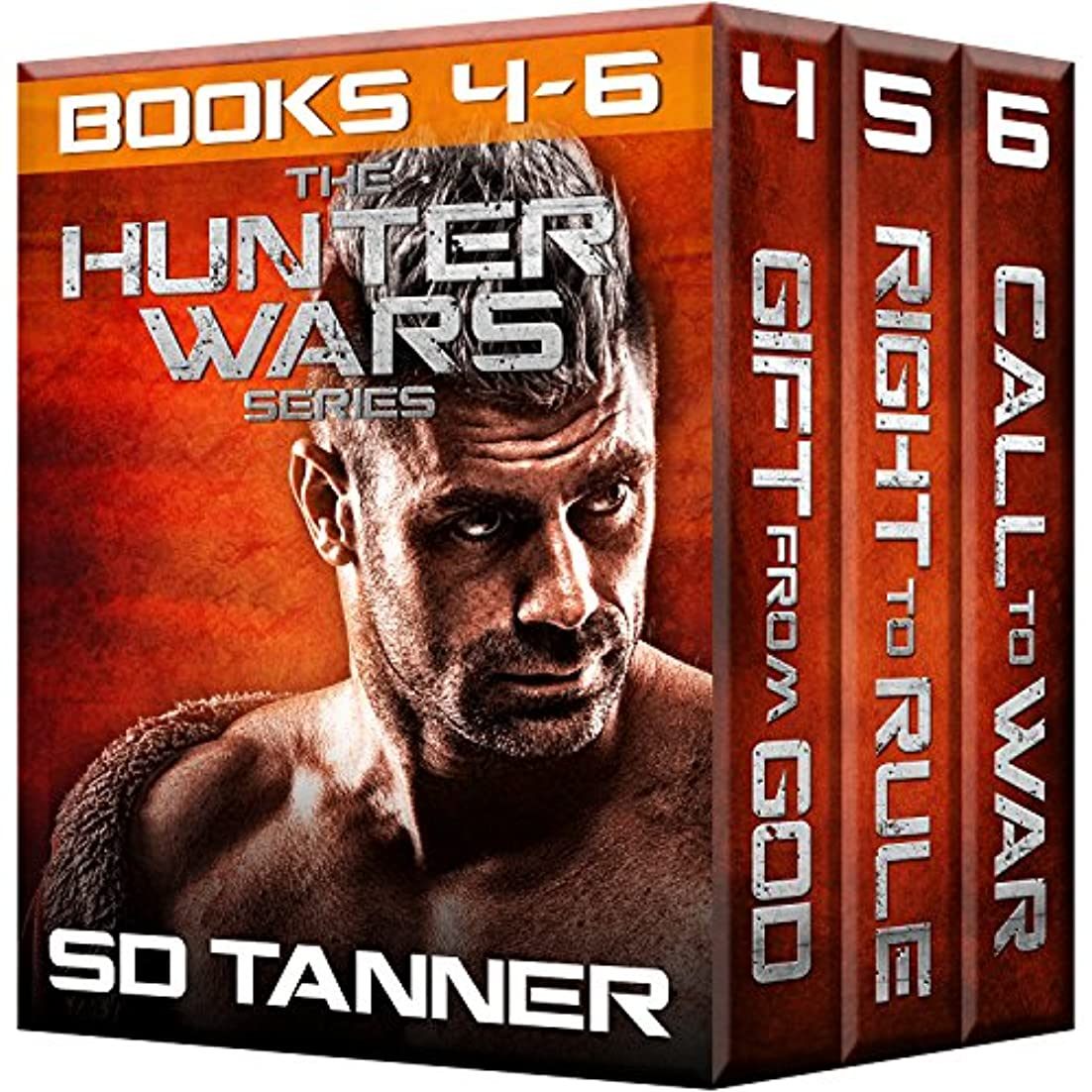 口述する疑わしい民主党Hunter Wars Series (Books 4 - 6) (Hunter Wars Boxed Sets Book 2) (English Edition)