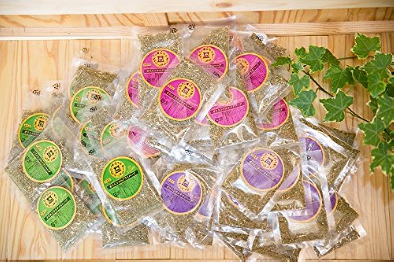 忌み嫌う支配的大胆なファンジン黄土 座浴剤 組合せ自由 3種 計5袋 (100包) 1.2kg