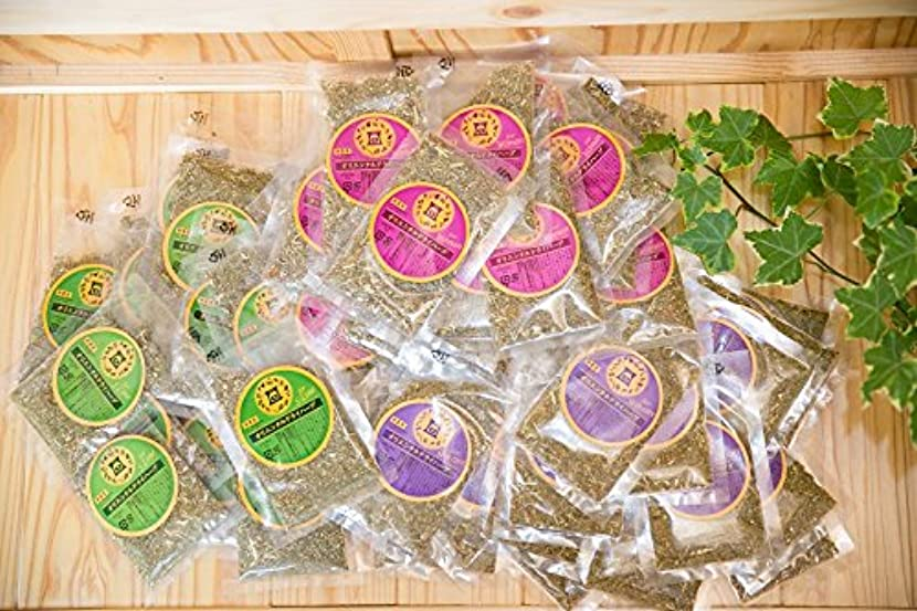 糞ホールドオール誓約ファンジン黄土 座浴剤 組合せ自由 3種 計5袋 (100包) 1.2kg