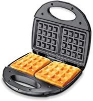 PowerPac Double-sided Heating Electric Waffle maker with Non-stick coating plate
