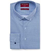 VAN HEUSEN Men's Euro Fit Shirt Geometric Print