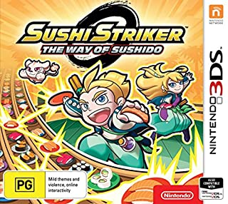 Sushi Striker: Way of the Sushido (Nintendo 3DS) (B07D13YRJZ)   Amazon price tracker / tracking, Amazon price history charts, Amazon price watches, Amazon price drop alerts