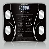 Body Fat Scale, Smart BMI Scale Digital Bathroom Wireless Weight Scale Body Composition Analyzer Health Monitor High Precisio