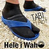 Hele i Waho(ヘレイワホ) フィンソックス マリンソックス シュノーケリングソックス 素足のような履き心地のウエットスーツ素材のソックス 3mm TABIソックス ショートタイプ シュノーケリング・ダイビング・ボディーボードなどに最適 L[0071]